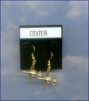 Cessna Citation Earrings Aircraft Airplane Plane 99's Aviatrix Made in the USA