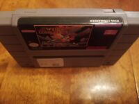 Wing Commander (SNES) game only