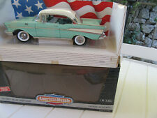 CHEVY BEL AIR 1957 SPORT COUPE AMERICAN MUSCLE ERTL 1/18
