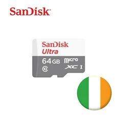 Sandisk Micro SD Card Ultra 16GB 32GB 64GB Ultra Class 10 Free Shipping!