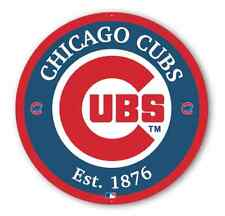 """Chicago Cubs Collectable 12"""" Metal Sign - NEW"""