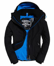 Superdry Men's Pop Zip Hood Arctic Windcheater Black Xx-large