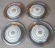1960 Cadillac Hubcap & Crest Original Wheelcover Set (4) Used Hubcaps 60