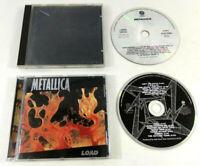 Lot 2 CD Metallica  Black Album  et  Load  Envoi rapide suivi