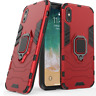 Rugged Hybrid Armor Shockproof Ring Stand Case Cover for IPhone X IPhone 8 /Plus