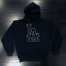 Los Angeles Dodgers Outline Hooded Sweat Shirt Hoodie Adult LA LAD Sweatshirt