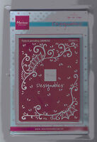 Marianne/DS0913/Emboss/DIE/Cutting/Folder/Frame/Designables