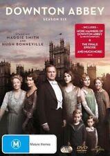 DOWNTON ABBEY (COMPLETE SEASON 6 - DVD SET SEALED + FREE POST)