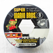 Super Mario Bros. Character Tape Collection Night Ver. PEPSI JAPAN GAME NES