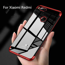For Xiaomi Redmi 5A Note 4X 5 Plus Luxury Slim Clear Soft Rubber TPU Case Cover