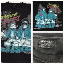 Vintage 1994 Galaxy Harvic XL Street Smart Popeye Freeze T Shirt