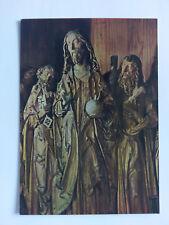 Tilman Riemenschneider Sculpture Heidelberg Museum colour Postcard c1960s Altar