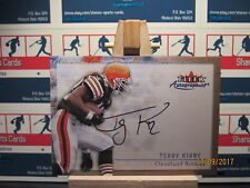 2000 Fleer Tradition Autographics #86 Terry Kirby