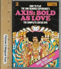 Dvd How To Play Jimmy Hendrix The Complete Guitar Dvd 3 Hrs Lessons Aledort
