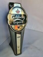 More details for vintage carlsberg export lager beer  pump pub home bar man cave tap garden shed
