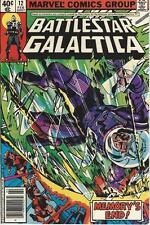 Marvel Comics Battlestar Galactica  Vol One (1979 Series) #12 VF 8.0
