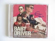 EDGAR WRIGHT SIGNED BABY DRIVER SOUNDTRACK CD DC/COA