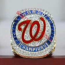 Official 2019 Washington Nationals World Series Championship Ring 8-14Size