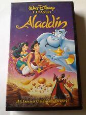 ALADDIN - i classici Walt Disney- VHS