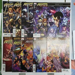 Asgardians of the Galaxy Lot 1-10 Complete Series Marvel Comics Comic Lot VF/NM