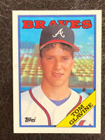 1988 Topps Tom Glavine Card #779 NM-MT Rookie RC HOF Atlanta Braves