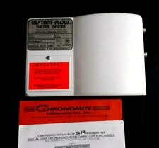 CHRONOMITE INSTANT-FLOW HOT WATER HEATER SR-20L/120 120VAC 2400W 20A RV TRAILER