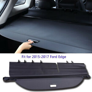 For 2015-2018 Ford Edge Retractable Trunk Security Cargo Cover Luggage Shield