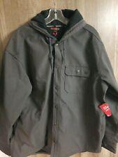 Men Wolverine Brand Gray Jacket Size XL NEW