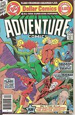 Adventure Comics #466 Nov-Dec 1979 Dc Justice Society Flash Deadman Aquaman