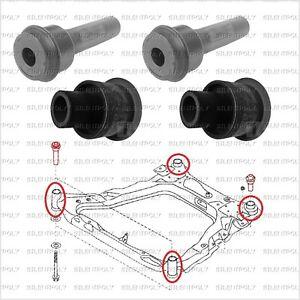 4 Silentblocs berceau moteur pour Nissan X-Trail T31