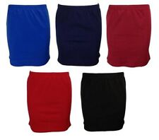 Polyester Mini Skirts for Women