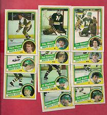 1984-85 TOPPS MINNESOTA NORTH STARS   CARD LOT