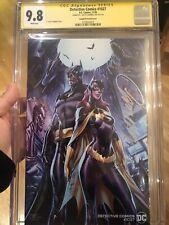 Detective Comics #1027 CGC 9.8 SS Campbell Variant SIGNED J. Scott Campbell L@@K