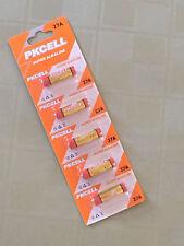 10 piece 27A A27 MN27 GP27 CA22 G27A L828 Card 12V Alkaline battery