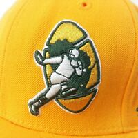 Green Bay Packers NFL Mitchell and Ness Vintage Cap Hat Yellow - Size 7 1/8