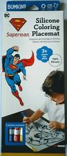 Dc Superman Silicone Coloring Placemat