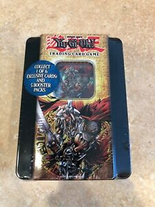 Yu-Gi-Oh - Gilford The Lightning - Collectors Tin - 5 Booster Packs SEALED! 2005