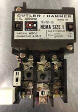 A10CNO Cutler-Hammer RECONDITIONED Starter NEMA SIZE 1 Series A1 6-23-2 C320KB1