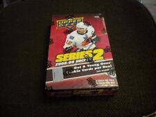 2008-09 UPPER DECK HOCKEY SERIES 2 HOBBY BOX !!