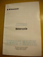 Kawasaki 2005 KDX50 Owners Manual KDX-A3 64 Pages 99987-1295