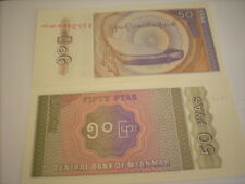 50 pyas Birmanie 1994