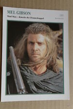 (S36) STARFILMKARTE - Mel Gibson - Mad Max - Jenseits der Donnerkuppel