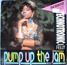 Technotronic - Pump Up The Jam (Remixes) GER 1989 Maxi Vinyl