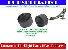 FRONT LOWER CONTROL ARM BUSHING FOR 2007-2012 TOYOTA CAMRY-K200041-SET OF 2 NEW