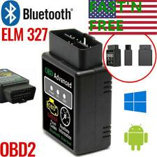 OBD2 Car Bluetooth Code Scanner Reader ELM327 Automotive Diagnostic Tool OBDII*