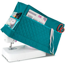 Sewing Machine Dust Cover for Most Standard Singer & Brother Machine (Turquoise)