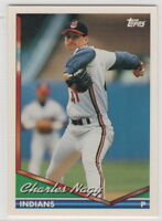 1994 Topps Baseball Cleveland Indians Team Set
