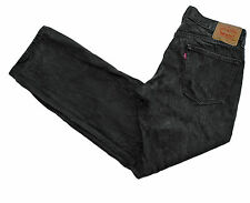 LEVIS Jeans 559 34x31 Relaxed Straight Loose Charcoal Gray Cotton 5 Pockets EUC