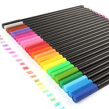 Fineliner Pens Set Pen Colors Color Triplus Staedtler 0 Fine Tip Coloring New