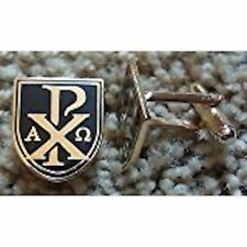 """Chi-Rho"" or ""sigla"" / Alpha-Omega Cuff Links"